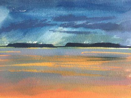 Landscape Painting 4 – Hilbre